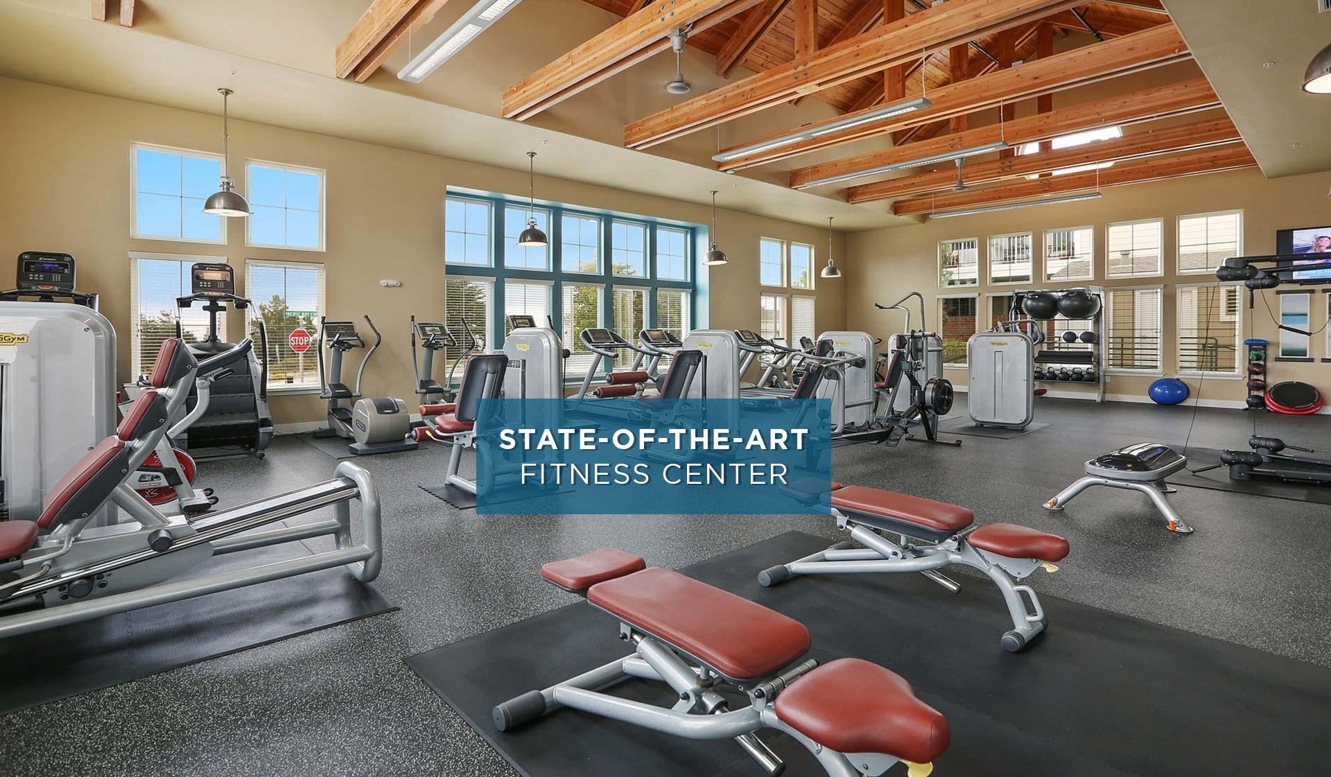 Pacific Bay Vistas - Fitness Center - San Bruno, CA