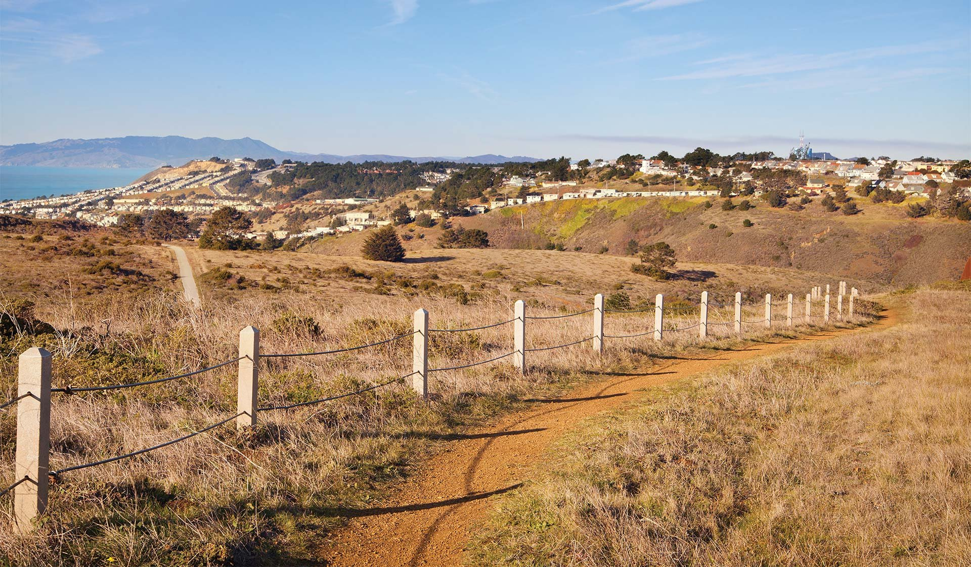 Pacific Bay Vistas - San Bruno, CA - Hiking Parks